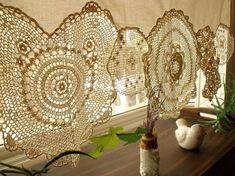 BOHO Vintage Crochet napperons Shabby Chic par BetterhomeLiving
