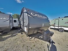 "AWESOME BUNKHOUSE RV FOR YOUR FAMILY!  2017 Coachmen Catalina Legacy Edition 323BHDS CK Your family will love everything that this 35' 10"" RV has to offer! Inside you'll enjoy a private front bedroom, an open living area, and a fun bunkhouse. The exterior provides extra living space with a large patio awning and a great outside camp kitchen. Weighs 7,750 lbs. dry. Give our Catalina Legacy Edition expert Jim Sobeck a call 517-648-8819 or send an email to jim@gillettesrv.com for pricing and…"