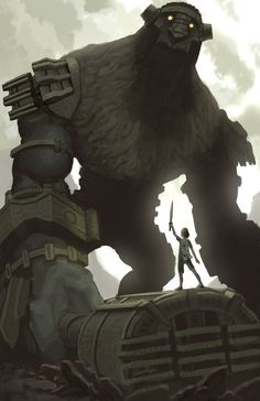 Shadow of the Colossus was a heart-moving video game - Bryan Fantasy World, Fantasy Art, Character Art, Character Design, Monster Concept Art, Mekka, Trolls, Video Game Art, Creature Design