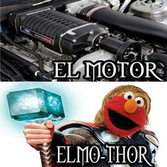 elmo thor
