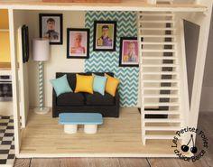 Maison de Barbie - # 5 : les meubles (cuisine et salon)