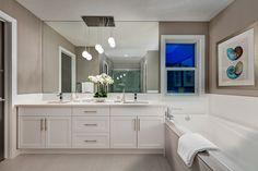 Double Sinks, Bathroom Lighting, Mirror, Furniture, Home Decor, Bathroom Light Fittings, Bathroom Vanity Lighting, Decoration Home, Room Decor