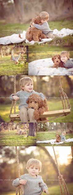 a boy and his dog… spring tx child photographer | Chubby Cheek Photography Houston, TX Natural Light | http://bestfriendmemories.blogspot.com