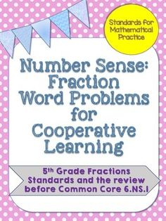 This product is aligned to 5th grade Common Core standards and is a review that I use for my 6th grade students before/while teaching 6.NS.1. This activity is a great opportunity to use the math workshop model, and it also brings in some of the 8 Standards for Mathematical Practices.