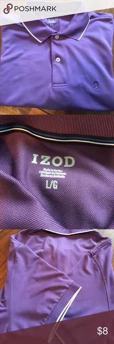 IZOD Golf shirt Armpit to armpit is 23 inches. Length is 27 inches. Izod Shirts