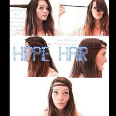 HIPPIE HAIR!!!!