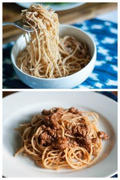 Old World Spaghetti and Meat Sauce.. Homemade sauce recipe that is simple, quick, and delicious!