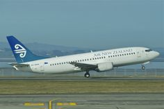We flew in an Air New Zealand Boeing 737 from Auckland to Brisbane in 2011.