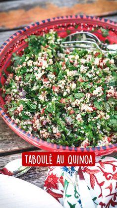 Vegetarian Recipes, Healthy Recipes, Healthy Food, Skinny Kitchen, Quinoa Salad, Summer Salads, Clean Eating Recipes, Nutrition, Fresh