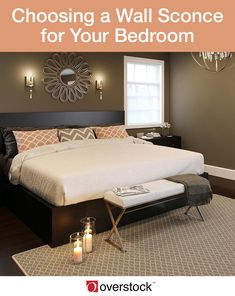Learn How To Choose The Best Wall Sconce For Your Bedroom. Wall Sconces Are  Stylish