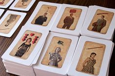"""Mad Men Tarot Cards 