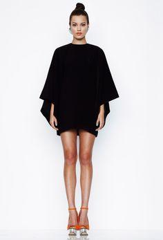 Maple Mini Dress - Black