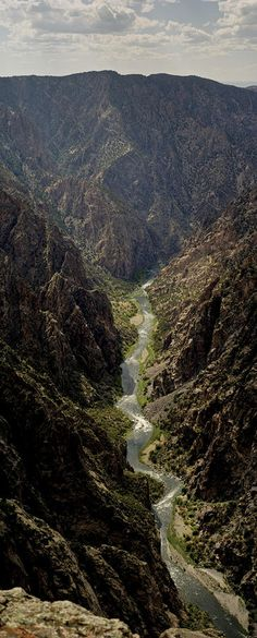 Black Canyon of the Gunnison River.