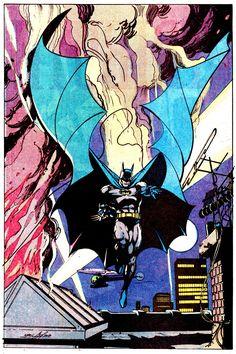 Batman Pin-Up by Neal Adams