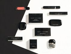 MARC JACOBS BEAUTY 120 Skus launched August 2013. Exclusive to all Sephora stores. Packaging and graphics designed by Established with print mechanicals executed by The Yellow Loft under the creative direction of Established