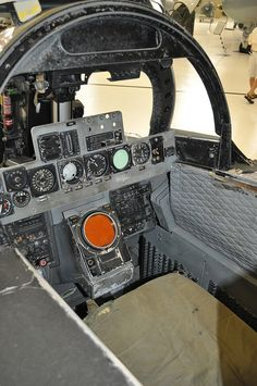 Pensacola Aviation Museum (257) F-4 RIO cockpit | by RNRobert