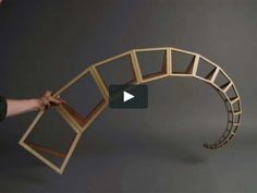 """This is """"Curling Spiral (Outer Spine)"""" by John Edmark on Vimeo, the home for high quality videos and the people who love them. Kinetic Architecture, Spiral Art, Fibonacci Spiral, Clinic Design, Mobile Art, Math Art, Kinetic Art, Glazes For Pottery, Motion Design"""