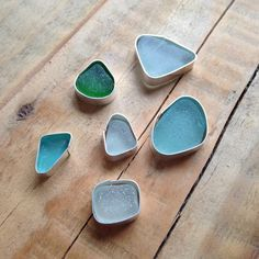 Setting Sea Glass Fr