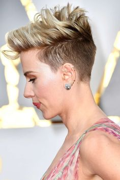 El corte punk de Scarlett Johansson