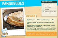 #Receta Panqueques