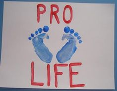 Pro Life Craft for Kids