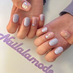 On average, the finger nails grow from 3 to millimeters per month. If it is difficult to change their growth rate, however, it is possible to cheat on their appearance and length through false nails. Stylish Nails, Trendy Nails, Cute Nails, My Nails, Fall Nails, Spring Nails, Cute Nail Art Designs, Acrylic Nail Designs, Acrylic Nails
