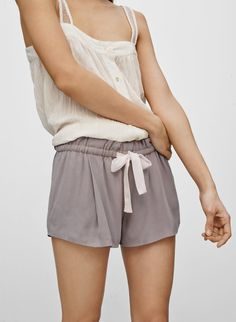 WILFRED MONTROUGE SHORTS - Flowy silk shorts that are purely feminine xs