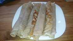 farkaselet: Gluténmentes gesztenyelisztes palacsinta Tacos, Mexican, Ethnic Recipes, Food, Essen, Meals, Yemek, Mexicans, Eten