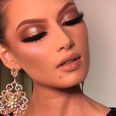 New makeup ideas dramatic eyelashes ideas Glam Makeup, Glamorous Makeup, Flawless Makeup, Gorgeous Makeup, Love Makeup, Skin Makeup, Makeup Inspo, Bridal Makeup, Wedding Makeup