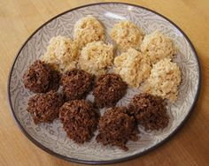 COCONUT HAYSTACKS are safe for everyone: gluten free, grain free, refined sugar free, dairy free, no bake, and vegan. Even people who can eat all those things love these. A one pot wonder, they are made with just a handful of ingredients that come together in minutes. Best of all, they're just plain yummy.