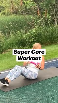 Ab Core Workout, Gym Workout Tips, Fitness Workout For Women, Easy Workouts, Workout Videos, Workout Bauch, Gym Workout For Beginners, Senior Fitness, Excercise
