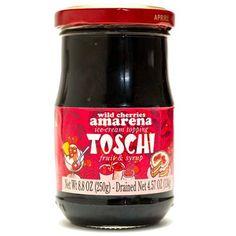 Wild Amarena Cherries in Syrup - Toschi $11.99