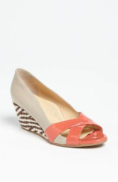 Anyi Lu 'Daphne' Pump available at #Nordstrom <-- Perfect with a summer work skirt (denim, khaki, grey, navy or white) and weekend jeans