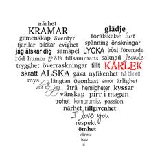 Hjärta / Tavla / Heart - made by Helle Happy Love, Sad Love, Just Love, Peace And Love, The Words, Cool Words, Smile Quotes, Love Quotes, Inspirational Quotes