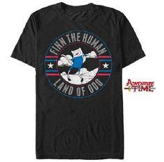 Adventure Time with Finn & Jake T-Shirt - Finn the Human T Shirt