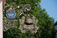 Weisses Brauhaus in Munich, Germany. Only place in Munich where I could find a Berliner Weiser.