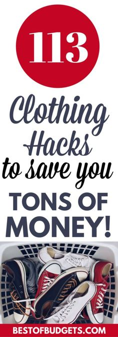 113 Clothing Hacks t