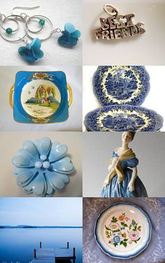 Best friends in Beautiful Blue!! by Daveda on Etsy-- Thank you for including my blue lake photo! https://www.etsy.com/treasury/MTIzMjU4NjJ8MjcyMzk4NTYzMw/best-friends-in-beautiful-blue
