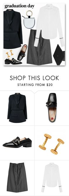 """Congrats, Grad: Graduation Day Style"" by emavera ❤ liked on Polyvore featuring WALL, Nehera, Gucci and Jil Sander"