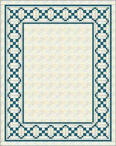 Braided Quilt Border Pattern | Quilt border, Patterns and Pdf : border quilt patterns - Adamdwight.com