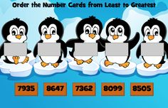 Pop Penguin and the Place Value Race Integers, Place Values, Penguins, Racing, Pop, Comics, Places, Cards, Running