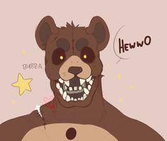 "anamatronic-dumbass: ""bubba is my big son……. """