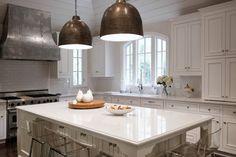 Neat island design - Cambria Torquay Quartz, Transitional, Kitchen, CR  Home Design