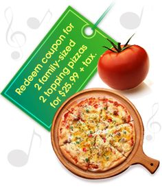 Redding's Ultimate Pizza.