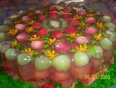 Gelatina de Frutas y Flores ConceptPARTY