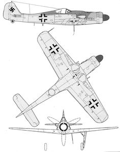Focke Wulf Fw 190, Profile Drawing, Ww2 Planes, Ww2 Aircraft, Aviation Art, Technical Drawing, Luftwaffe, Wwii, Military