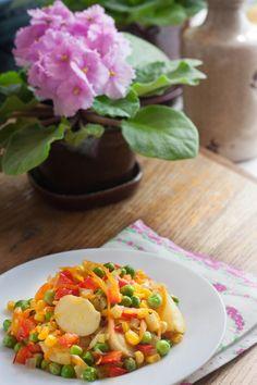 Vegan recipe of New vegetables | vegelicacy.com