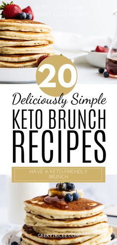 Gathered here are keto brunch recipes for your healthy brunch party. You don't have to give up brunch for you keto or low carb diet. Low Carb Meal Plan, Low Carb Dinner Recipes, Clean Eating Recipes, Brunch Recipes, Keto Recipes, Breakfast Recipes, Dessert Recipes, Healthy Eating, Healthy Recipes