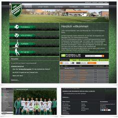 Internetseite Relaunch TSV Karby / Leistungen: Konzeption, Webdesign, Technische Umsetzung / Techniken: Contao, HTML5, CSS, PHP, mootools