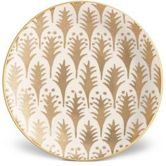 L'Objet Fortuny Piumette Canape Plates (610 BRL) ❤ liked on Polyvore featuring home, kitchen & dining and serveware